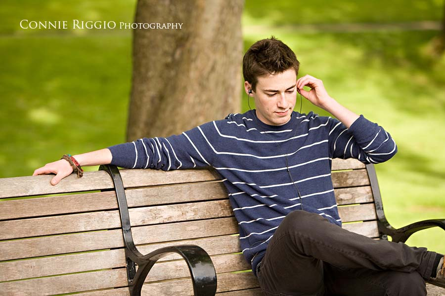 Cool Guy Senior Portrait Photographer