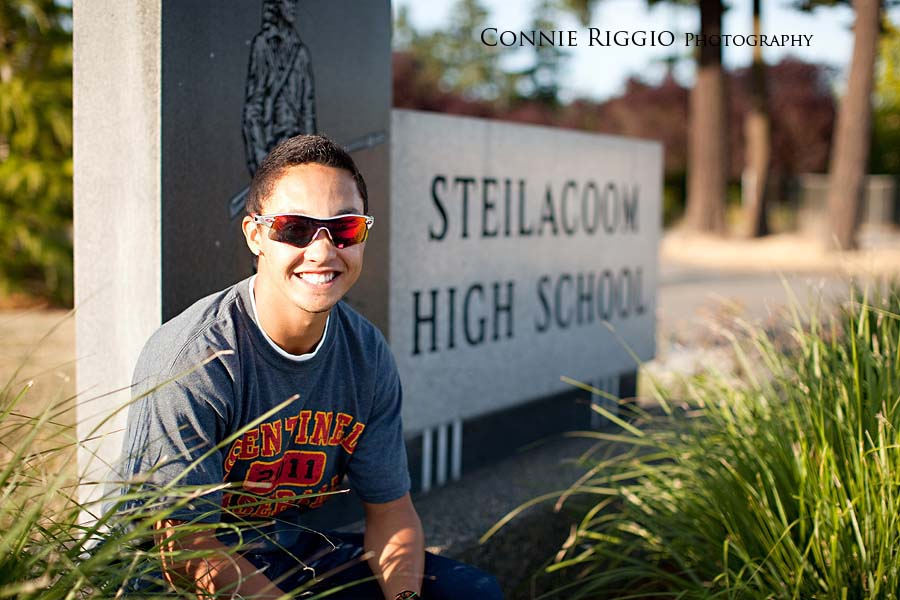 Steilacoom Tacoma Seattle Senior Photographer