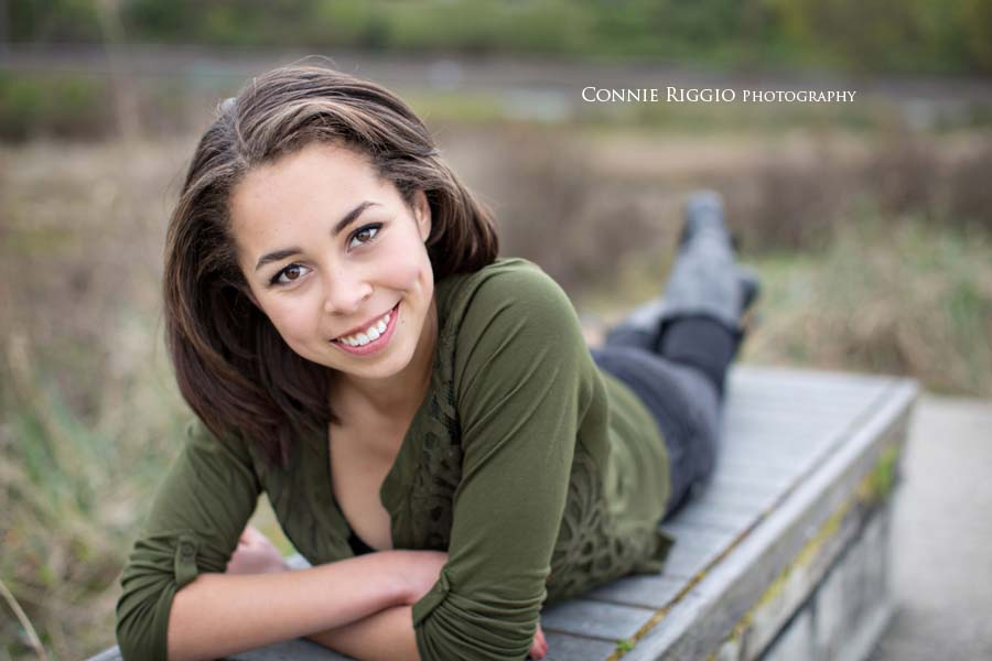 Senior Girl Tacoma Rainier Lutheran Haley Photo