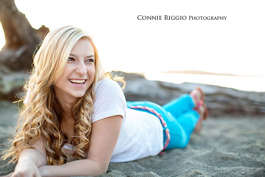 Senior-Chambers Bay-Sunny Side Beach-Tacoma-Girl-Ali-Photo