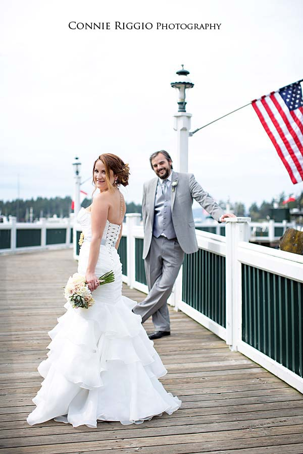 Roche Harbor San Juans Fisher Wedding Photo