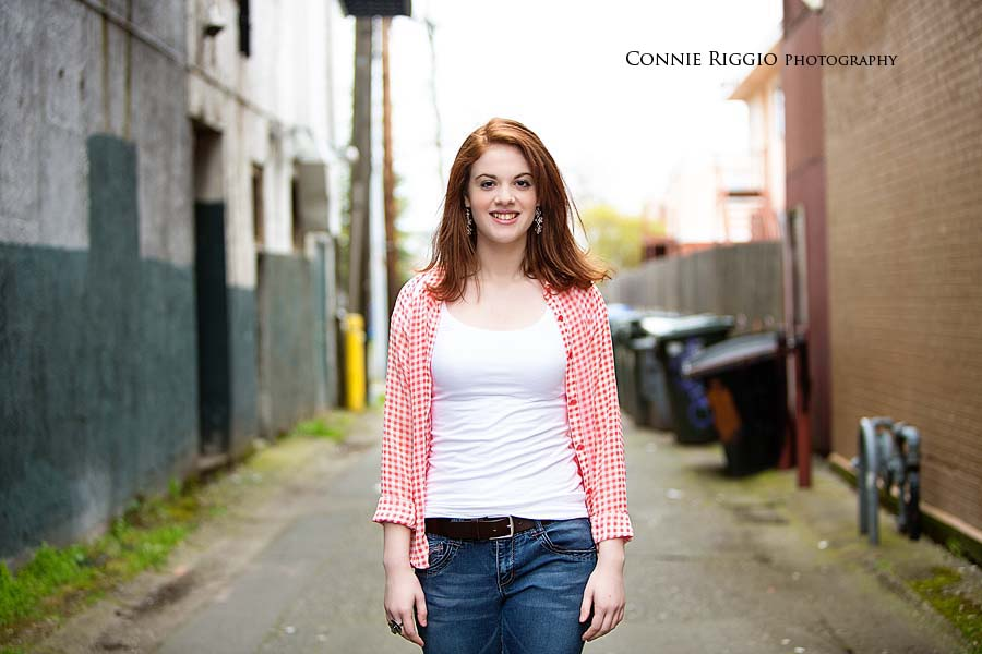 Kentlake Kent Tacoma Girl Senior Photo