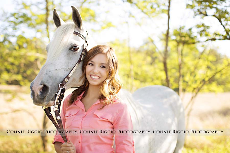 Senior Girl Country Bellarmine Tacoma Ally Photo