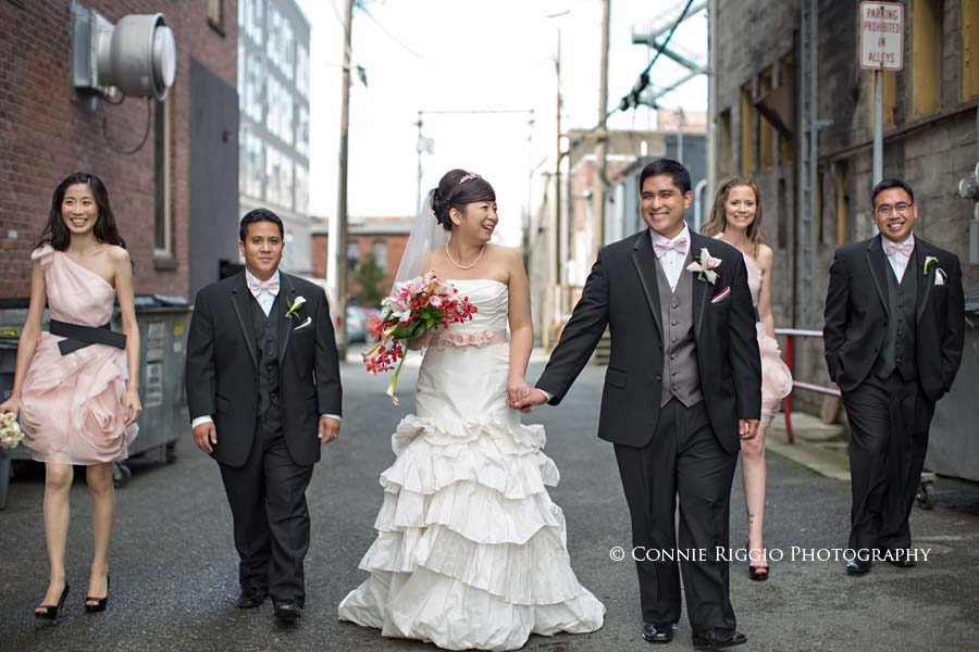 Wedding Monte Cristo Ballroom Everett Grace Dariel photo